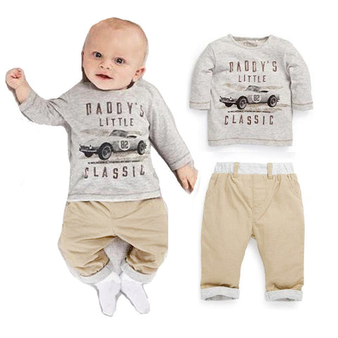Daddy's Little Classic Baby Suit - Dottie D Shopping