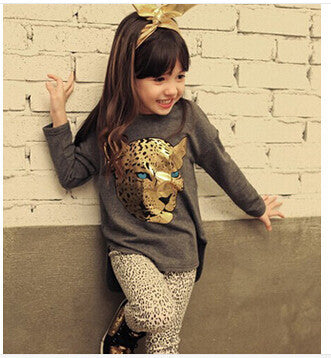 Leopard Printed Kids Clothes - Dottie D Shopping