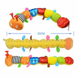 Caterpillar Rattle with Ring Bell Toys - Dottie D Shopping
