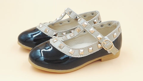 Children's Casual Leather Flats - Dottie D Shopping