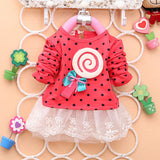 Lollipop Baby Girls Lace Dress - Dottie D Shopping