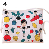 1PCS Hot Cartoon Graffiti Printed Women Handbag Mini Crossbody Shoulder Bag Lady Daily Purses Clutches Girls Flap Bag