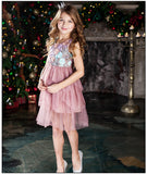Kids Dress Toddler Girl Lace Dress 6 8 10 12 Year Princess Birthday Party Dress Children Clothing