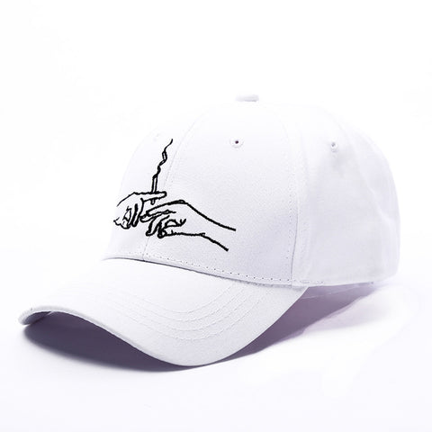 Smoking Embroidery Brand Baseball Cap Snapback Caps Sports Leisure Hats Fitted Casual Dad Hats For Men Women