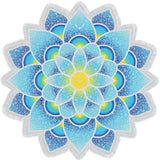 Lotus Round Beach Towel 145cm Mandala Lotus Flower Tassel Bath Towel Large Printed Pink Blue Beach Towels Shawl Yoga Mat