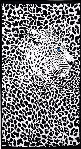 100x180cm Super-absorbent Leopard Print Terry Beach Towel for Adult Microfiber Bath Swimming Wrap Blanket Quick Dry Pool Sheet