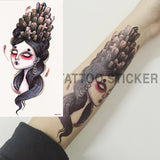 1pcs Watercolor Flower Temporary Body Tattoo so Beautiful can be used for Shoulder,thigh, or Back Body docor