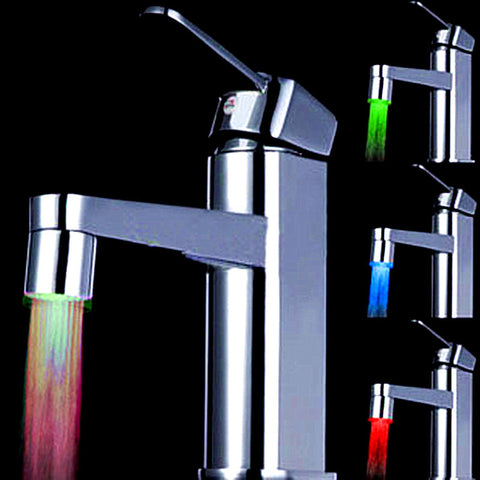 LED Water Faucet Stream - 7 Colors Light