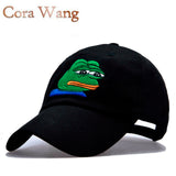 Sad Kermit  Brand New!  Ex Machina Bay Women Baseball Cap  Strapback snapback palace gorras Dad hat for MenTravis Scotts  cap