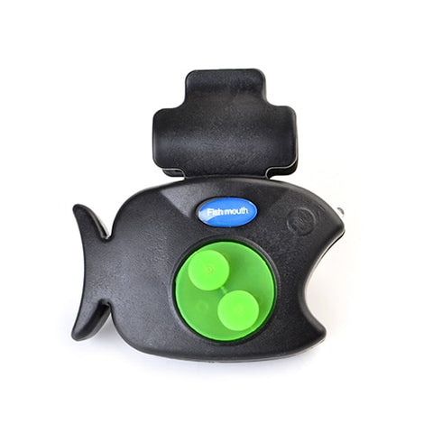 Fishing Electronic LED Light Fish Bite Sound Alarm With Bell Clip On Fishing Rod