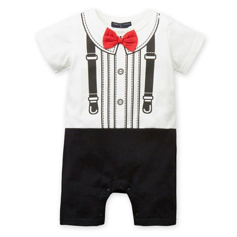 Baby Boy Gentleman Boy Jumpsuits