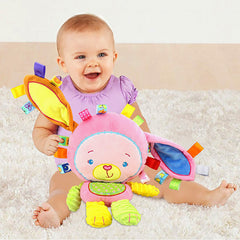 Image of Baby Toddler Rattle Animal Doll Plush Toy