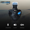 Image of Fishing Electronic LED Light Fish Bite Sound Alarm With Bell Clip On Fishing Rod