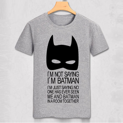Batman T Shirts  Fashion Personalized Custom Tshirts batman costume men T-shirt  batmen Funny top tee superhero cool shirt - Dottie D Shopping