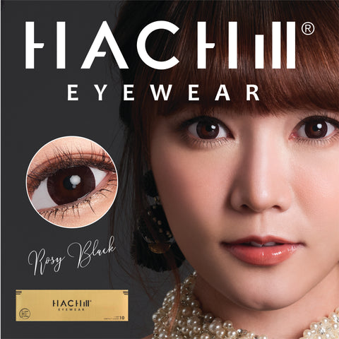 HACHill Daily Contact Lens (ROSY BLACK, SILVER, STARRY NIGHT)