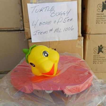 Lot#425: Turtle Buggy. Qty. 1 turtle.