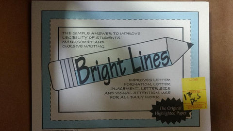 Lot #806: Bright lines papers. Price includes one pack with 50 pg.