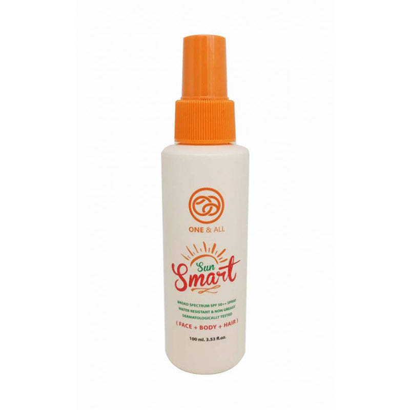 One & All Sun Smart Spray 100ml