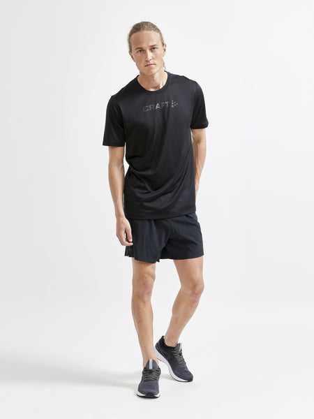 Craft Men's Core Essence SS Mesh Tee - Black