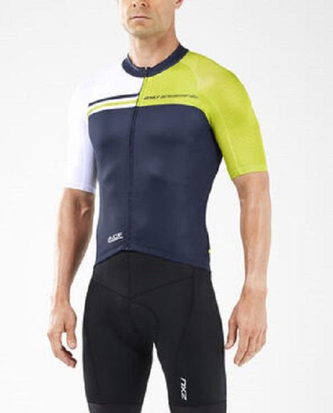 2XU Men's Elite Cycle Jersey- MC5424A (MMB/PHY)