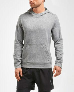 2XU Men's Urban Pullover Hoodie- MR5237A (GRY/BLK)