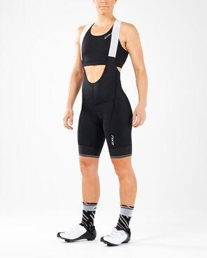 2XU Women's Elite Cycle Bib Shorts-WC5427B (BLK/BLK)