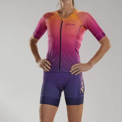 ZOOT WOMENS LTD TRI AERO JERSEY - SUNSET