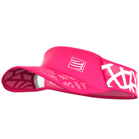 COMPRESSPORT SPIDERWEB ULTRALIGHT VISOR - PINK