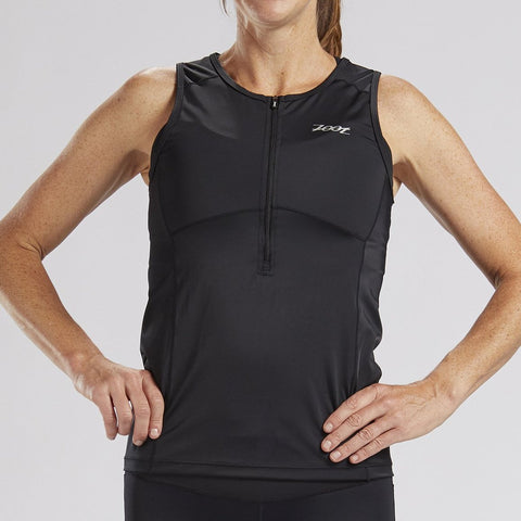 ZOOT WOMEN'S CORE TRI TANK - BLACK