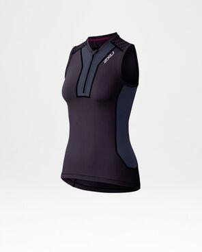 2XU Women's XTRM Compression Tank-WR3780A (CBP/BAB)