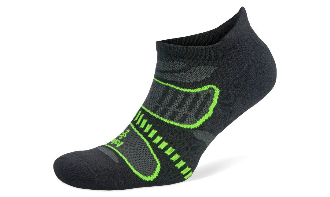 Balega UltraLight No Show - Black / Lime