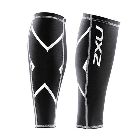 2XU Unisex Compression Calf Guard - Black