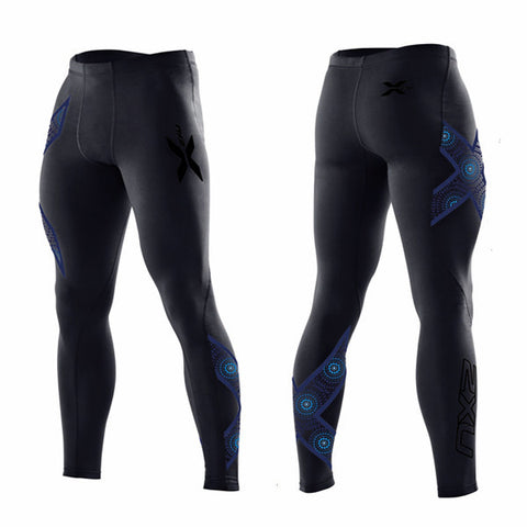 2XU MEN'S TEN YEAR ANNIVERSARY COMPRESSION TIGHTS - LIMITED EDITION