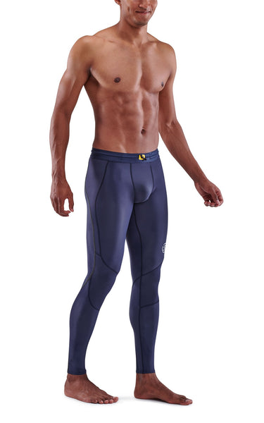Skins Men's Compression Long Tights 3-Series - Navy Blue ( Pre-order 10 March 2021 )