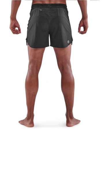 Skins Men's Series-3 Run Shorts- Black