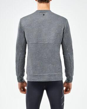 2XU Men's Urban Crew Pullover- MR5077A (CHR/CHR)