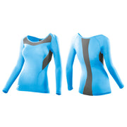 2XU Women's Base Compression Long Sleeve Top - Baby Blue