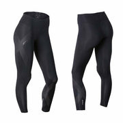 2XU Women's Mid-Rise Compression Tights - Black Reflective