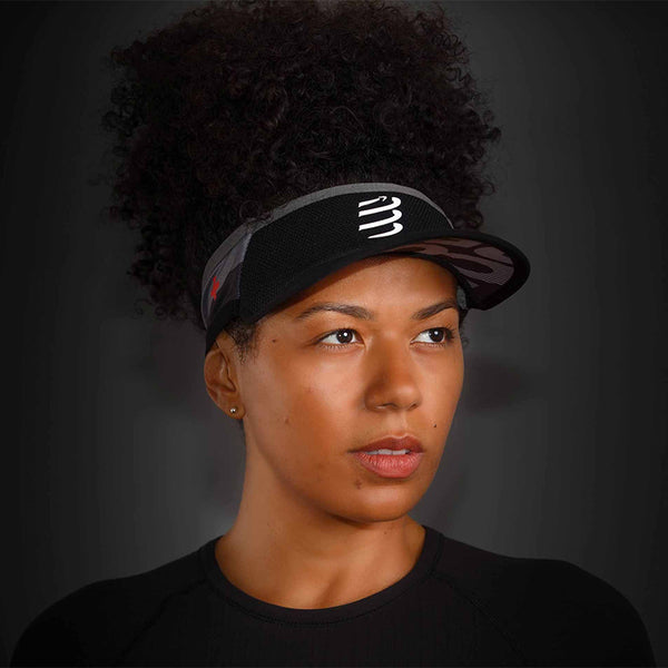 COMPRESSPORT VISOR ULTRALIGHT FLASH - BLACK
