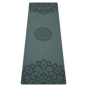 Yoga Design Lab Flow Yoga Mat 6mm Pure - Mandala Charcoal
