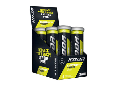 Koda Electrolyte - Lemon - 6 Tube