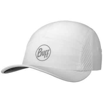 Buff Pack Run Cap R-Solid White
