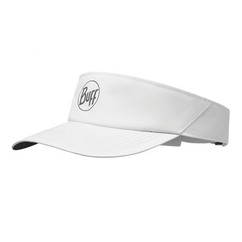 Buff Reflective Visor R-Solid White