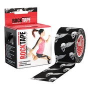 "Rocktape 2"" Black Skull"