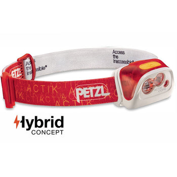Petzl Actik Core 350 Lumen - Red