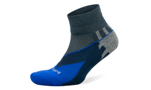 Balega Enduro Quarter - Charcoal/Cobalt