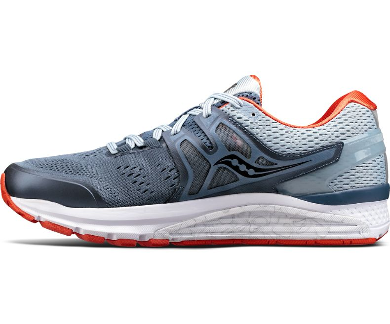 Saucony Hurricane ISO 3 BlueBlackRed Men Saucony Shoes