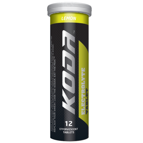 Koda Electrolyte 12 Tablets Tube - Lemon