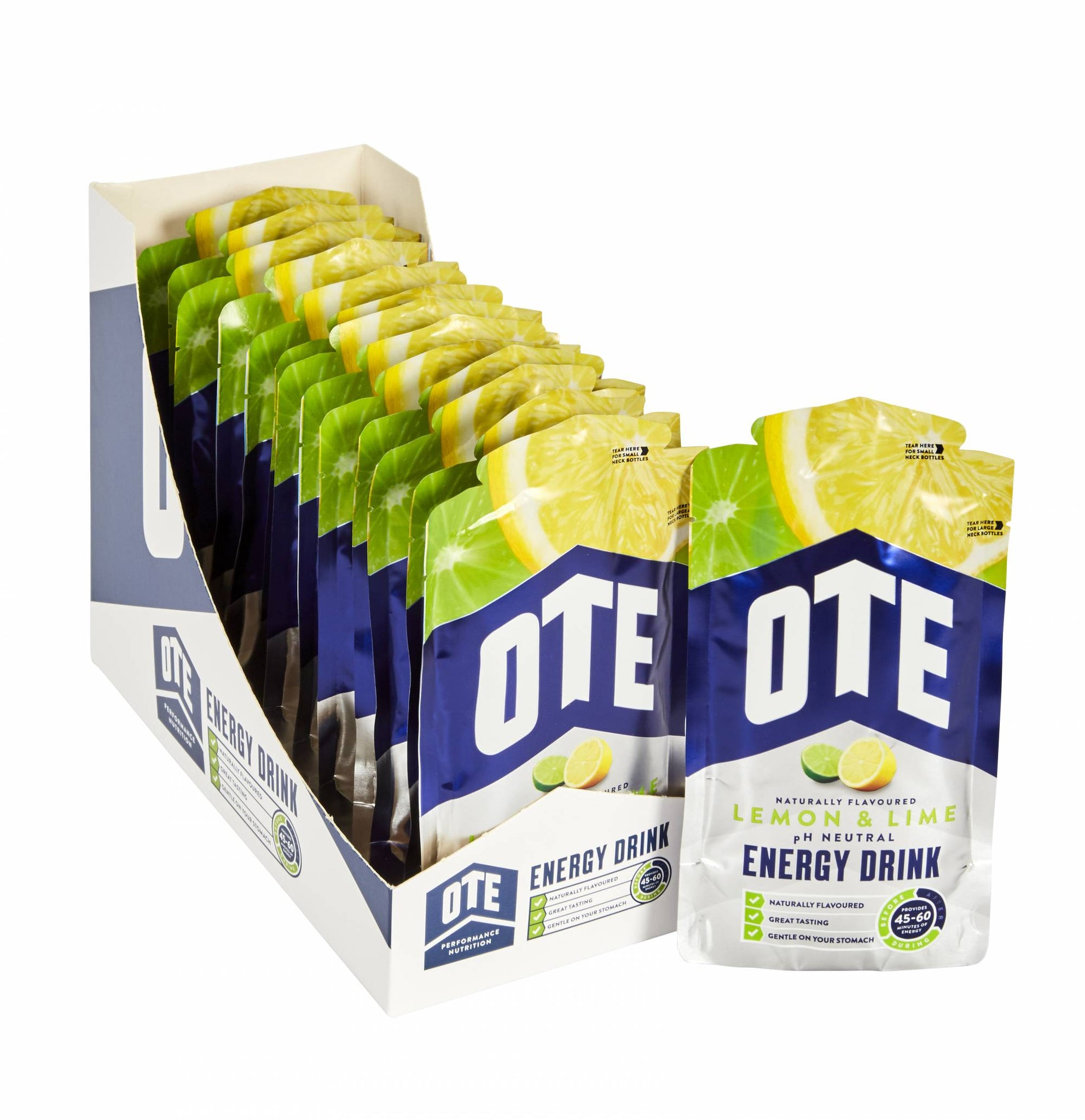 OTE ENERGY DRINK 1 BOX(14 PACKS)-LEMON LIME