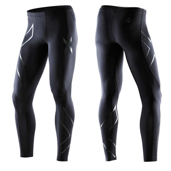 2XU MEN'S PWX RECOVERY TIGHT - BLACK